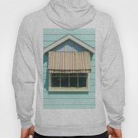 Summer cottage stripped canvas awning Hoody