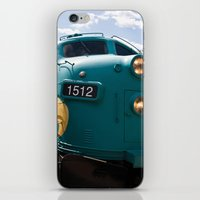 Train In Your Face iPhone & iPod Skin
