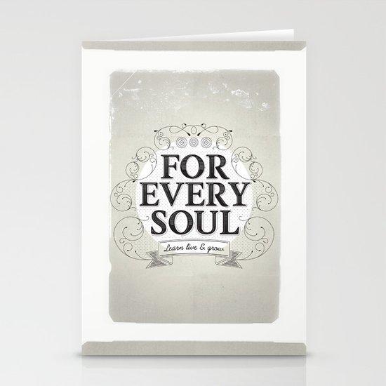 Every Soul Stationery Card