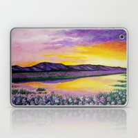 Purple Sunset Laptop & iPad Skin