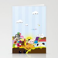SF Sweet World  Stationery Cards