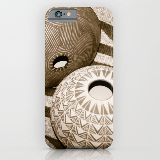 Indian Pottery iPhone & iPod Case