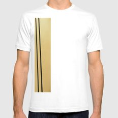 SF Golden Gate Bridge  Mens Fitted Tee SMALL White