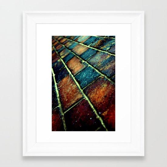 {All in all} Framed Art Print