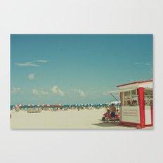 Miami Beach... Canvas Print