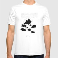 418 Mens Fitted Tee White SMALL