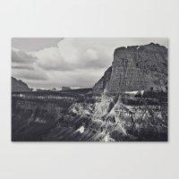 Morning Mountain Drive Canvas Print