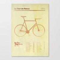 Le Tour De France Canvas Print