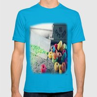 Stay In School Mens Fitted Tee Teal SMALL
