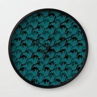 Abstract Pattern 1 Wall Clock