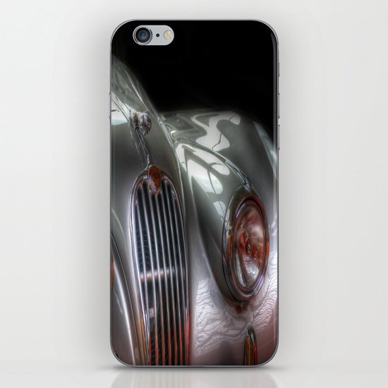 Silver Jag iPhone & iPod Skin