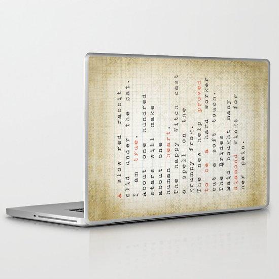 true Laptop & iPad Skin