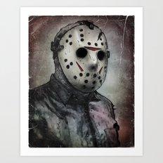 Jason Portrait Art Print