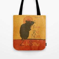 Le Rat Noir Tote Bag