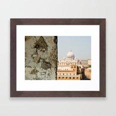 {Basilica Papale di San Pietro in Vaticano} Framed Art Print