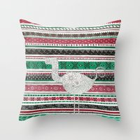 Lost in Romania Throw Pillow