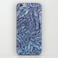 Feather story iPhone & iPod Skin