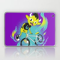Monster Pixie Riding A F… Laptop & iPad Skin