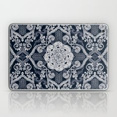 Centered Lace - Dark Laptop & iPad Skin