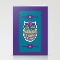 Indie Owl Stationery Cards