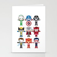 'UNCANNY AVENGERS' ROBOTICS Stationery Cards