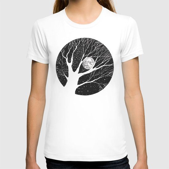moonlight shadow T-shirt