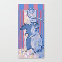 2-headed Rat Canvas Print