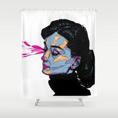 A. Hepburn Shower Curtain