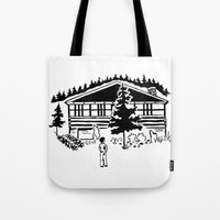 Family Cabin Tote Bag