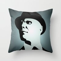 OBEY (Fringe) Throw Pillow