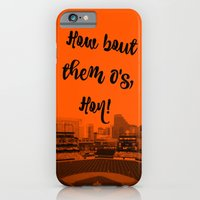 How bout them O's black text iPhone 6 Slim Case
