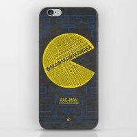 Pac-Man Typography iPhone & iPod Skin