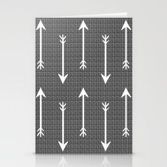 Arrow Sketch Stationery Card