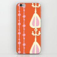Ikat Heart Stripe iPhone & iPod Skin