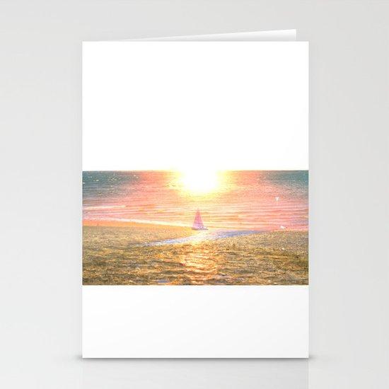 Sail dream Stationery Card