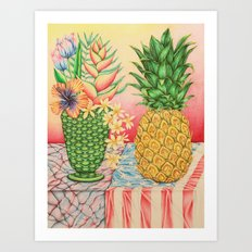 Still Life during an Election Year Art Print