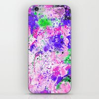 Watercolour Paint Splash iPhone & iPod Skin