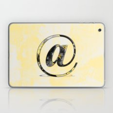 At Sign {@} Series - Baskerville Typeface Laptop & iPad Skin
