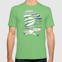 Sarah Unraveled Mens Fitted Tee Grass SMALL
