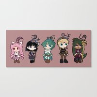 Steampunk Sailor Moon - Outers Canvas Print