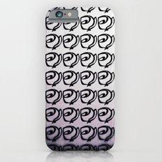 Rows of Flowers, Purple iPhone 6s Slim Case