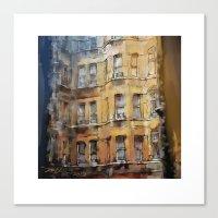 London Facade Canvas Print