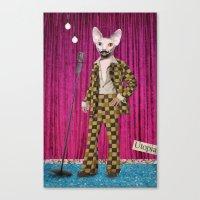 Animal Collection -- Boo… Canvas Print