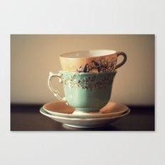 Tea Set Canvas Print
