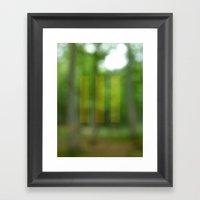 abstract nature dream 3 Framed Art Print