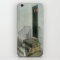Knock Knock Who's There iPhone & iPod Skin