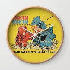 ROCK 'EM, SOCK 'EM JAEGERS Wall Clock