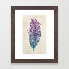 Supreme Plumage Framed Art Print