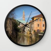 Bridge With A View Wall Clock