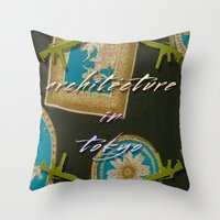 Architecture in tokyo / 東京の建築 Poster Throw Pillow